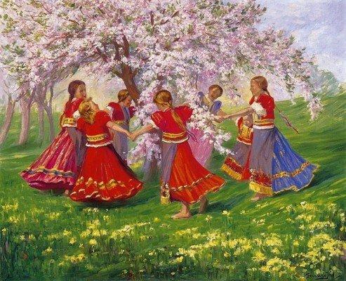 Доклад на тему веснянки 6859