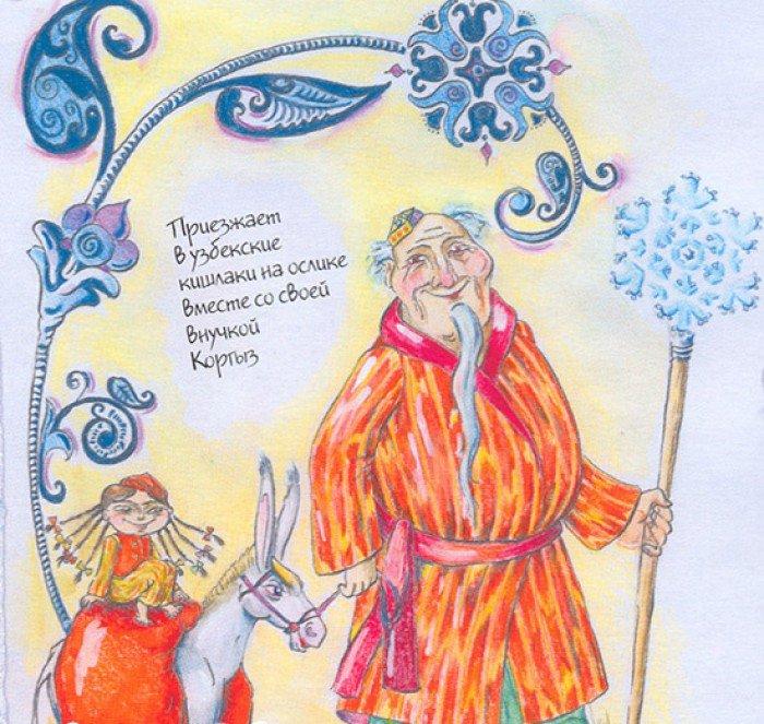 як намалювати святого миколая і ангелів фото