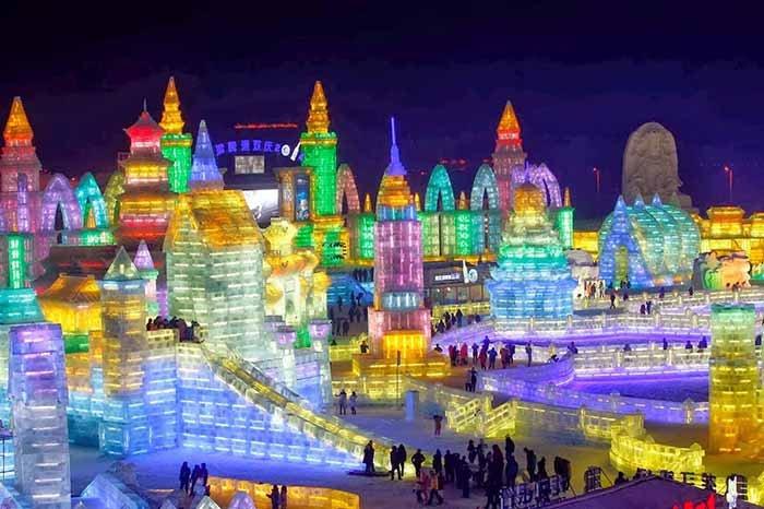 Фестиваль снега и льда в Харбине, фото 2
