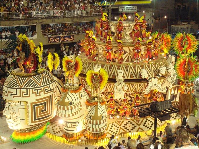 Удивительный карнавал в Рио-де-Жанейро, фото 2