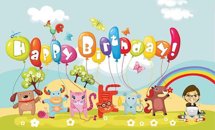 Привітання з Днем народження англійською
