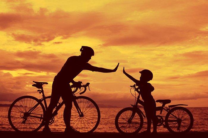 Привітання для батька від сина в День батька