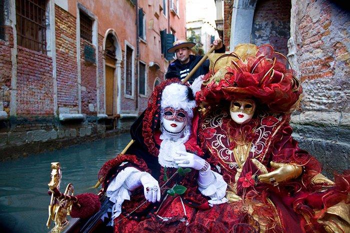 Роскошный карнавал в Венеции, фото 1