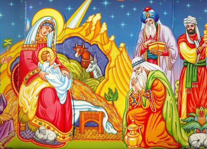 Рождественские загадки под елочку