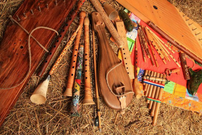 Украинские музыкальные инструменты