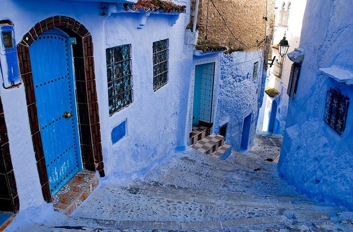 Шефшауен — голубой город Марокко, фото 2