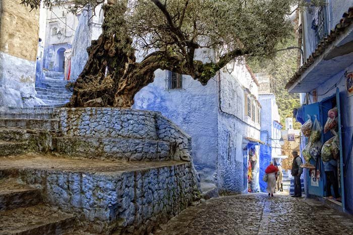 Шефшауен — голубой город Марокко, фото 7