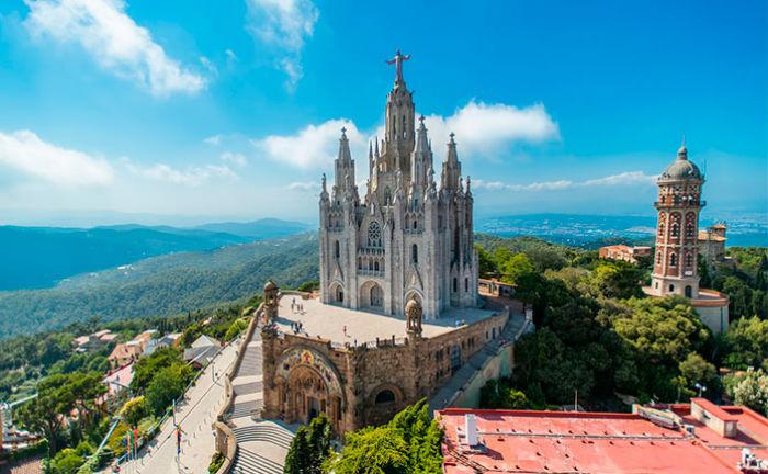 Гора Тібідабо - найвища точка в Барселоні