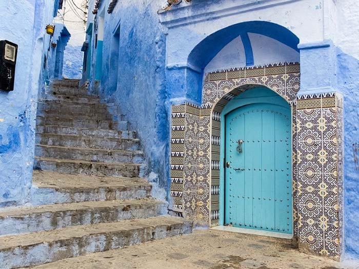 Шефшауен — голубой город Марокко, фото 20