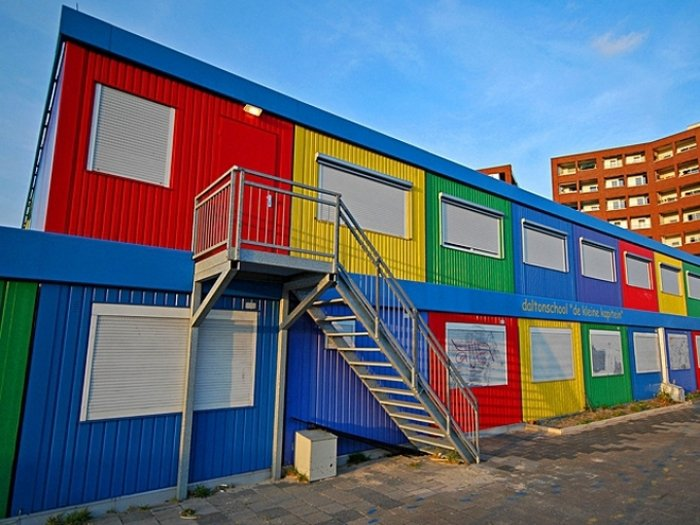Найнезвичайніші школи світу, De Kleine kapitein в Амстердамі - фото 2