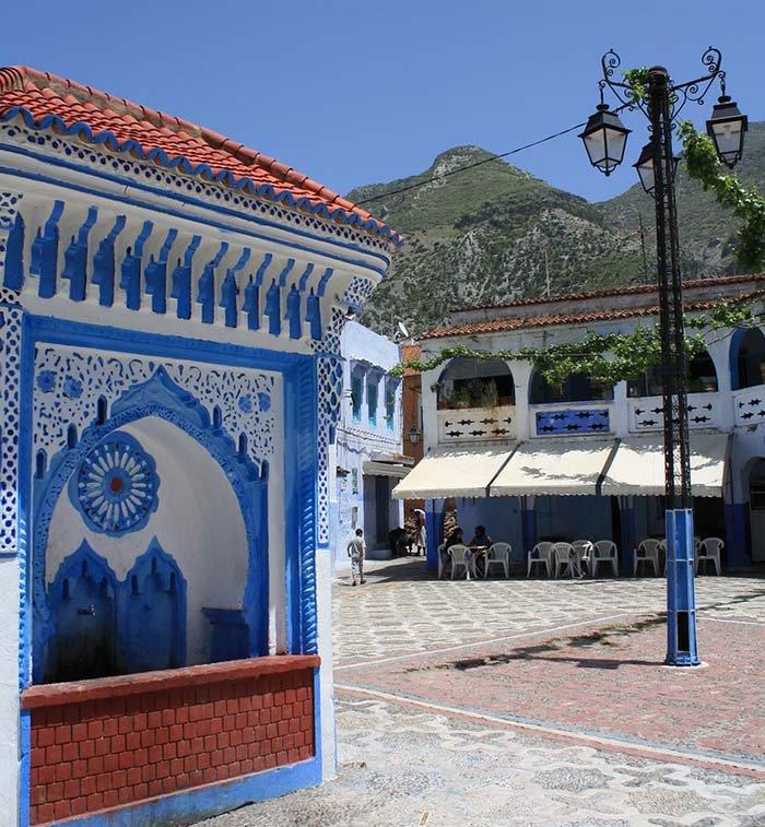 Шефшауен — голубой город Марокко, фото 12