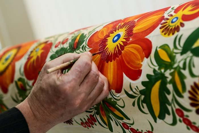 Мастера петриковской росписи