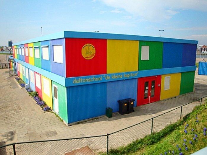 Найнезвичайніші школи світу, De Kleine kapitein в Амстердамі - фото 1