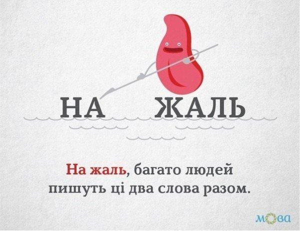 Украинская грамматика в рисунках