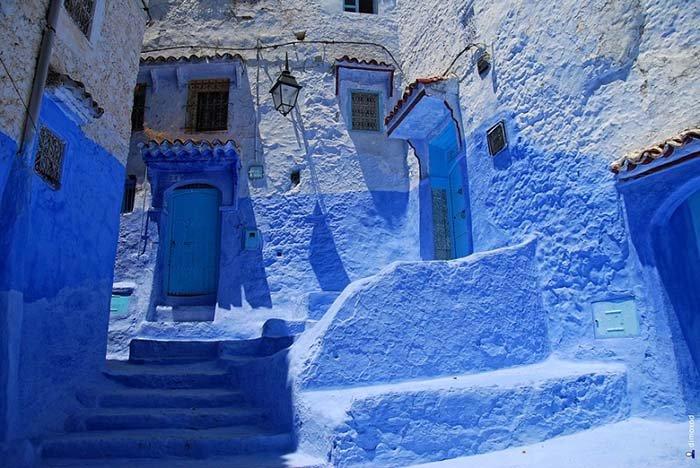 Шефшауен — голубой город Марокко, фото 16