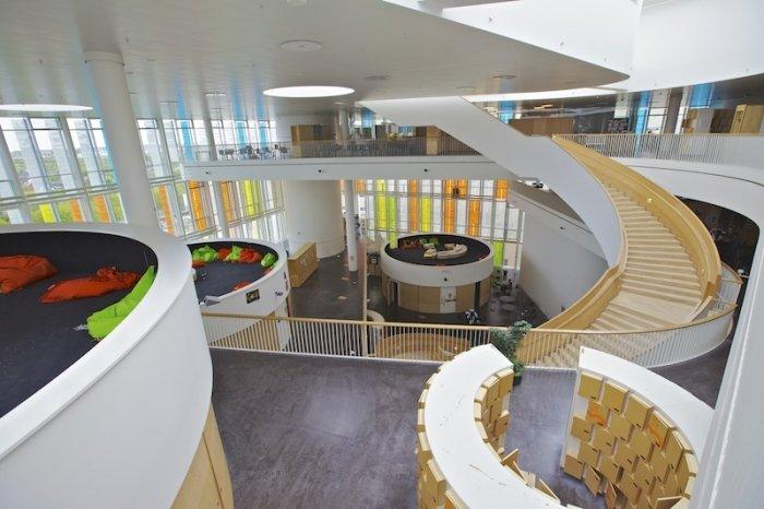 Найнезвичайніші школи світу, Гімназія Орестанд у Копенгагені - фото 3