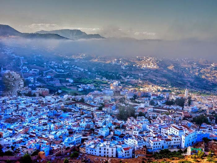 Шефшауен — голубой город Марокко, фото 1