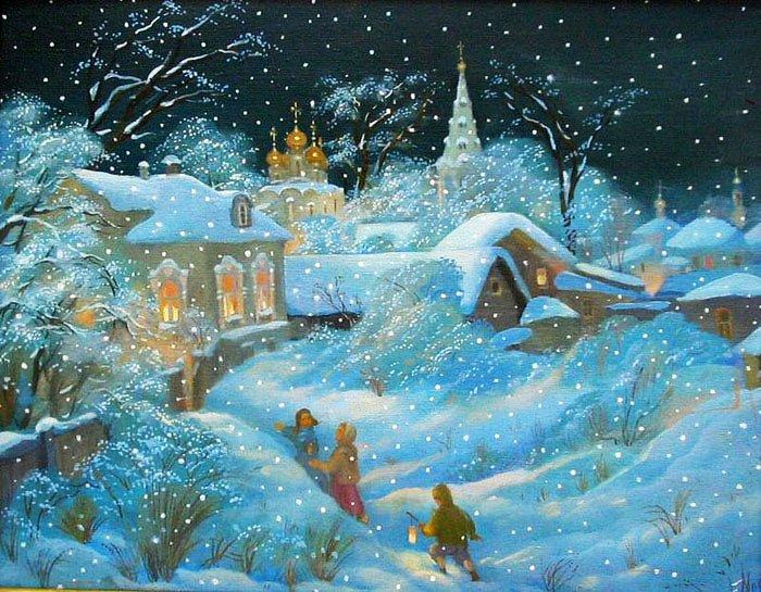 Прекрасные стихи о зиме, фото 9
