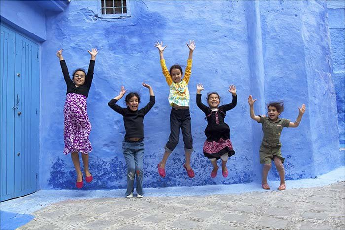 Шефшауен — голубой город Марокко, фото 10