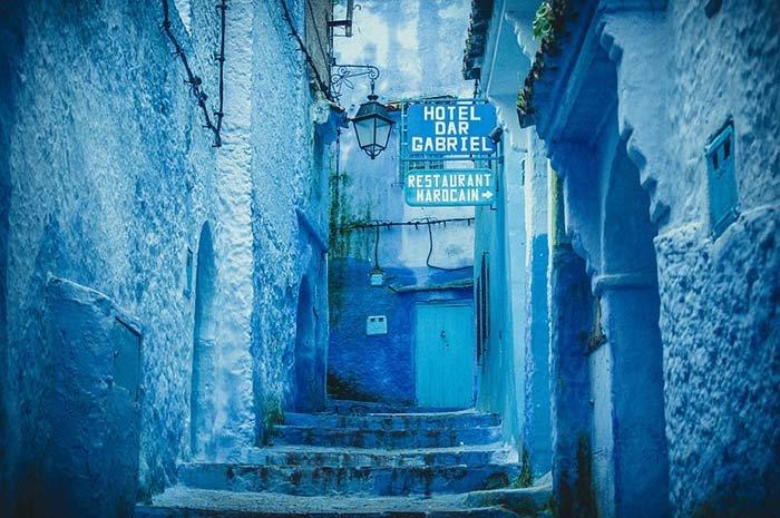 Шефшауен — голубой город Марокко, фото 18