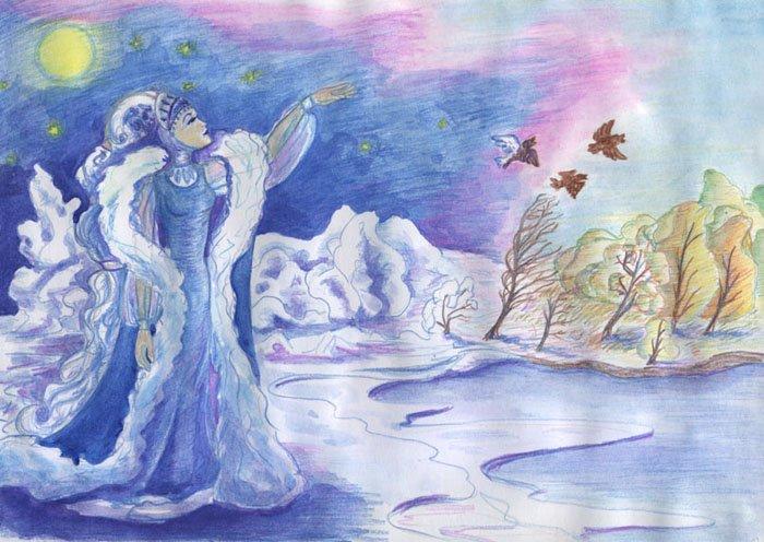 День зимового сонцестояння, народні премети