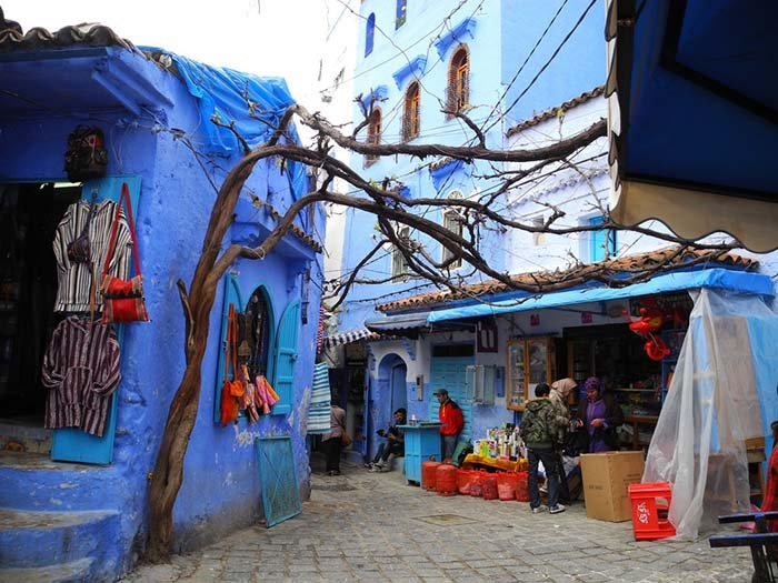 Шефшауен — голубой город Марокко, фото 19