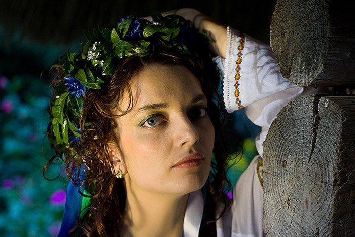 Украинский венок — красота и традиции слились воедино
