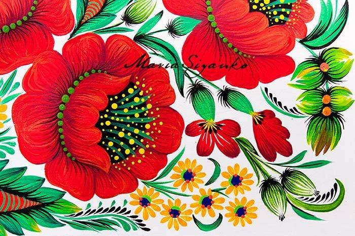 Возникновение петриковской росписи