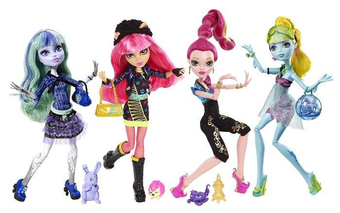 Ляльки Монстр Хай: неідеальні, але водночас — стильні