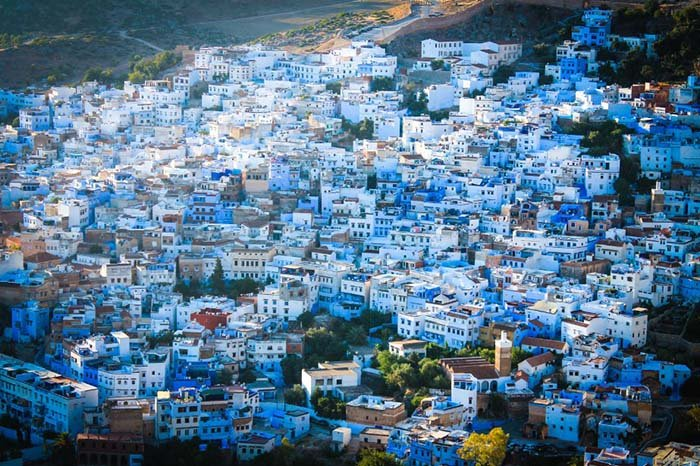 Шефшауен — голубой город Марокко, фото 11