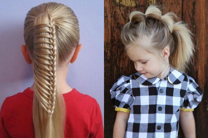 зроби унікальну святкову зачіску-хвіст