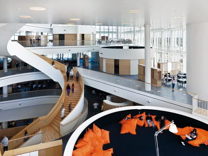Найнезвичайніші школи світу, Гімназія Орестанд у Копенгагені - фото 4