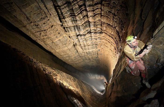 Печера Крубера-Вороняча — найглибша печера в світі, фото 8