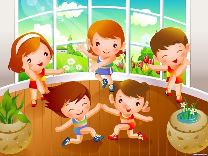Вправи для ранкової гімнастики для дітей 7-9 років
