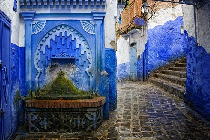 Шефшауен — голубой город Марокко, фото 17