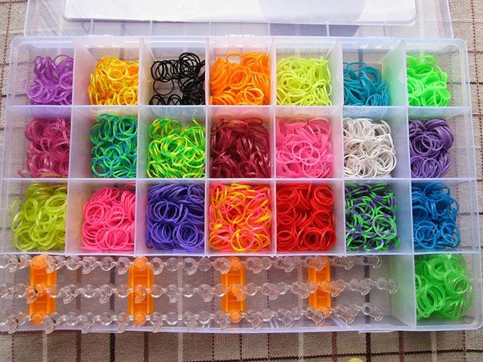 Изобретение плетения из резинок, фото 1