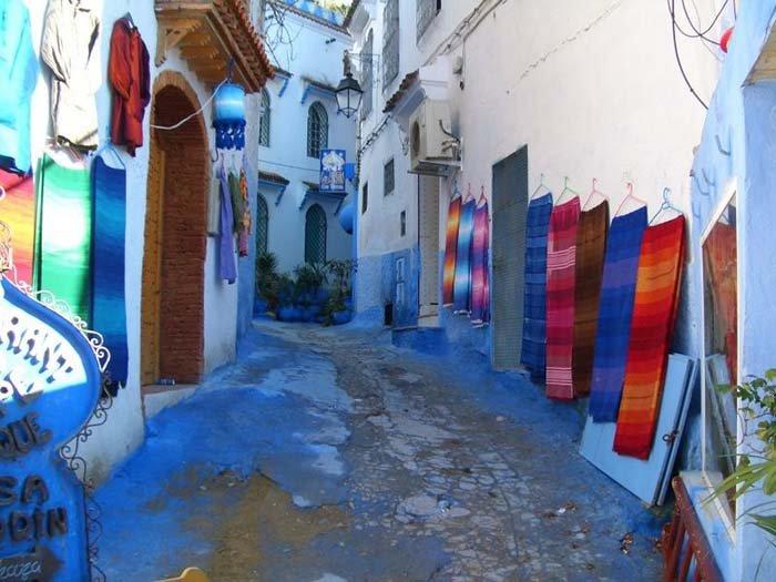 Шефшауен — голубой город Марокко, фото 13