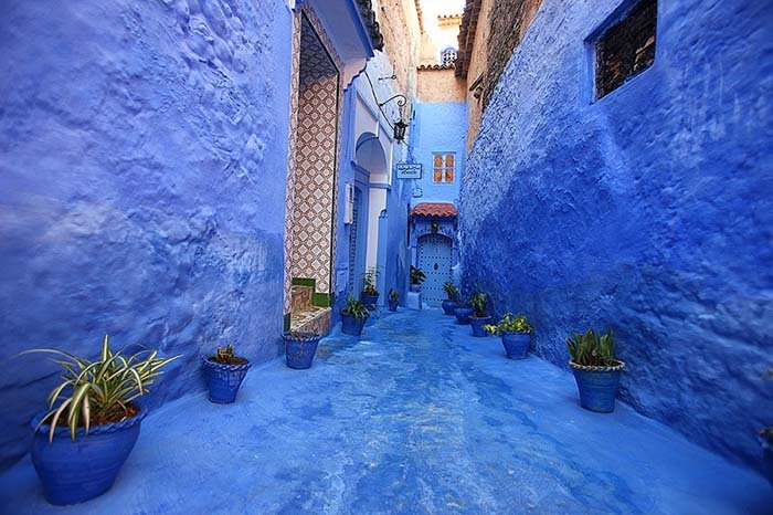 Шефшауен — голубой город Марокко, фото 5