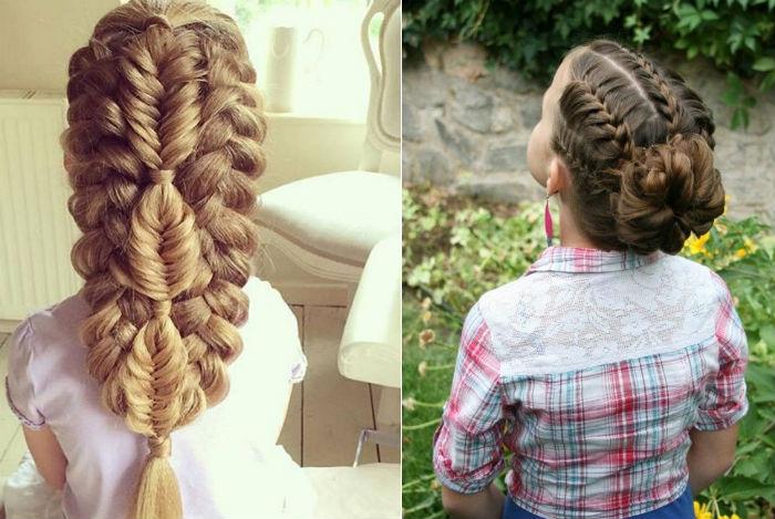 гарне плетіння коси