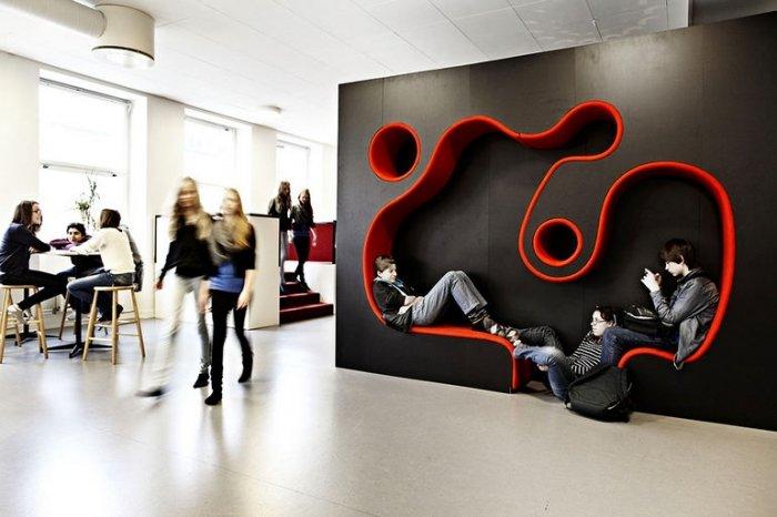 Найнезвичайніші школи світу, Vittra Södermalm у Швеції - фото 3