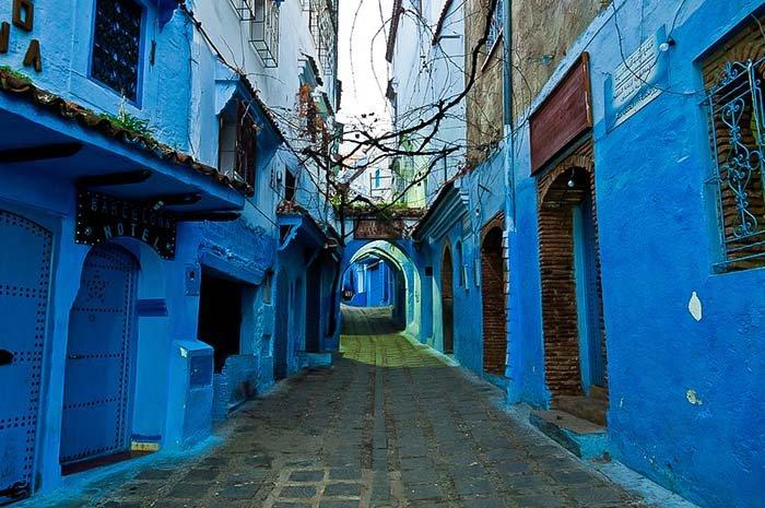 Шефшауен — голубой город Марокко, фото 14