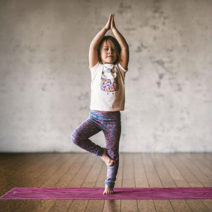 Йога для детей, упражнения
