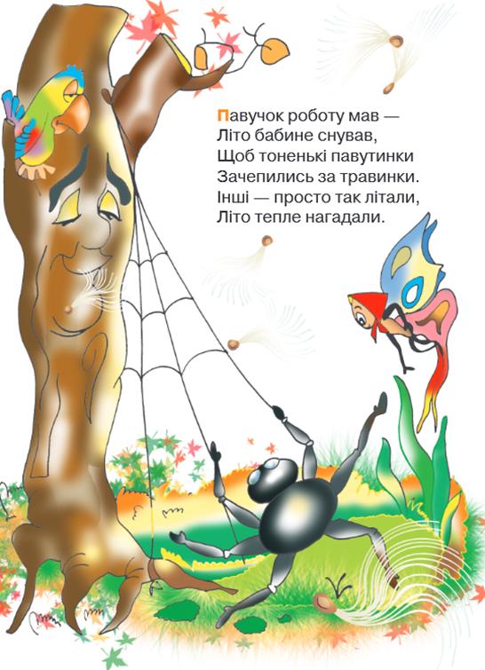 Вірші про осінь для дітей дошкільного віку