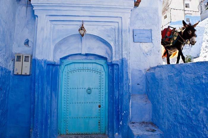 Шефшауен — голубой город Марокко, фото 15