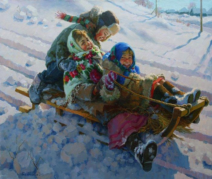 Дитячі вірші про зиму, фото 4