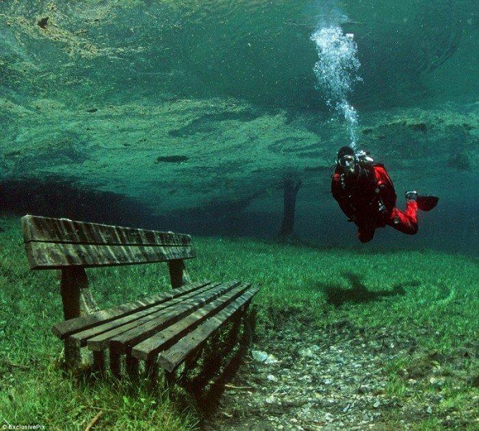 Найкрасивіші парки світу - Зелене озеро, Австрія