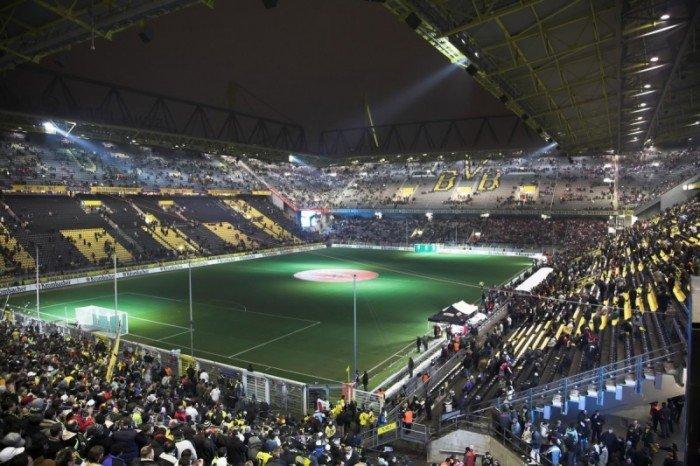 Найбільші стадони Європи для футболу - Німеччина