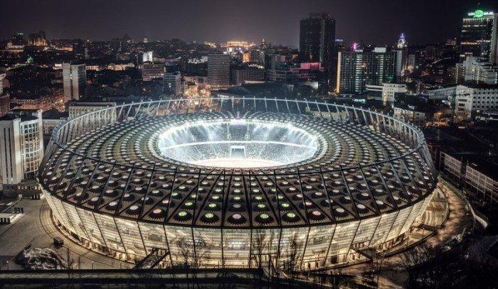 Найбільші стадони Європи для футболу - Київ