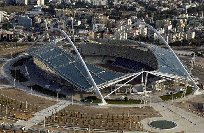 Найбільші стадони Європи для футболу - Афіни
