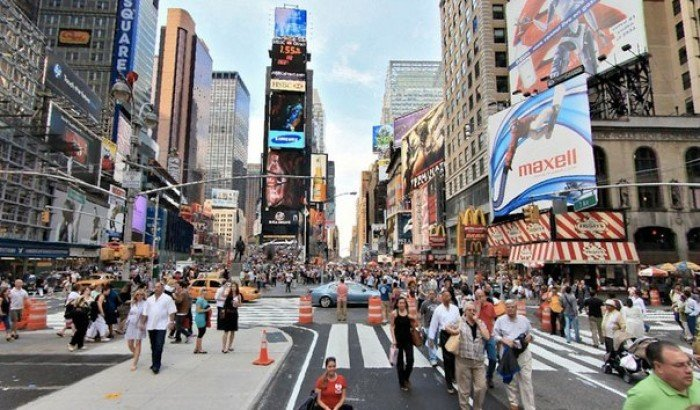 Онлайн веб-камеры мира - Таймс-сквер